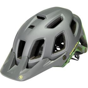 Endura SingleTrack II Casco, verde
